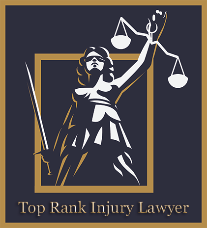 Top Rank California Injury Lawyer Logo